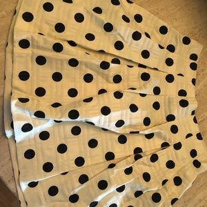 Banana Republic factory polka dot skirt